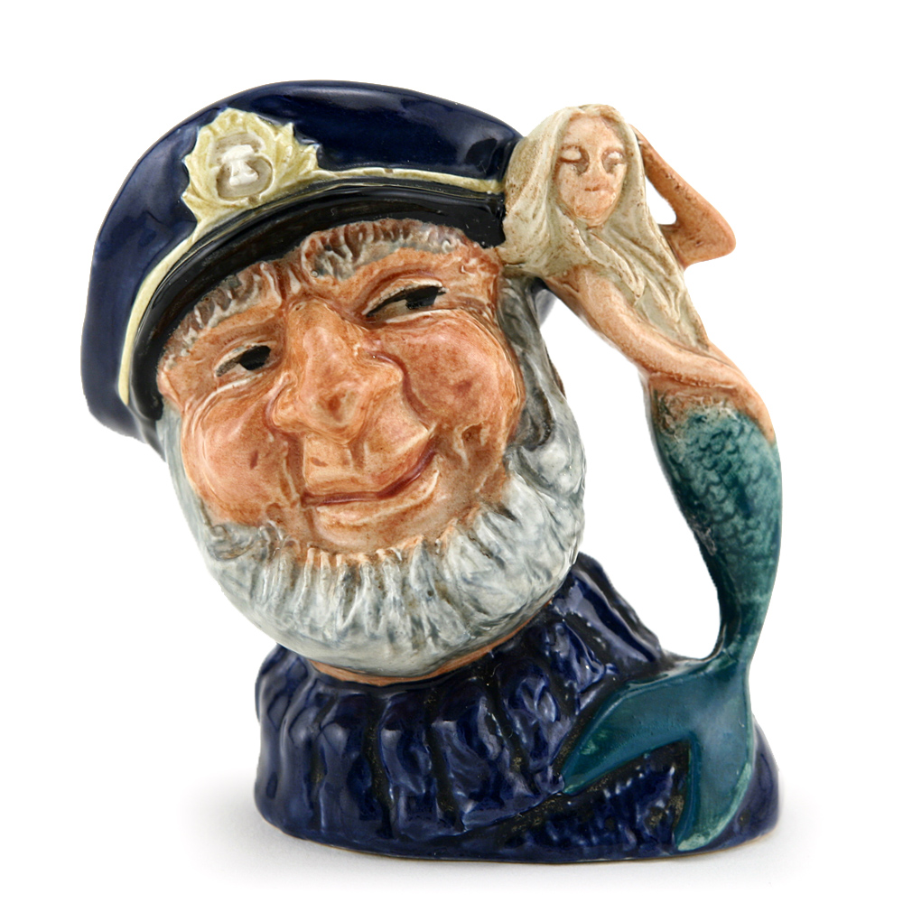 Old Salt Open Arm D6557 - Mini - Royal Doulton Character Jug