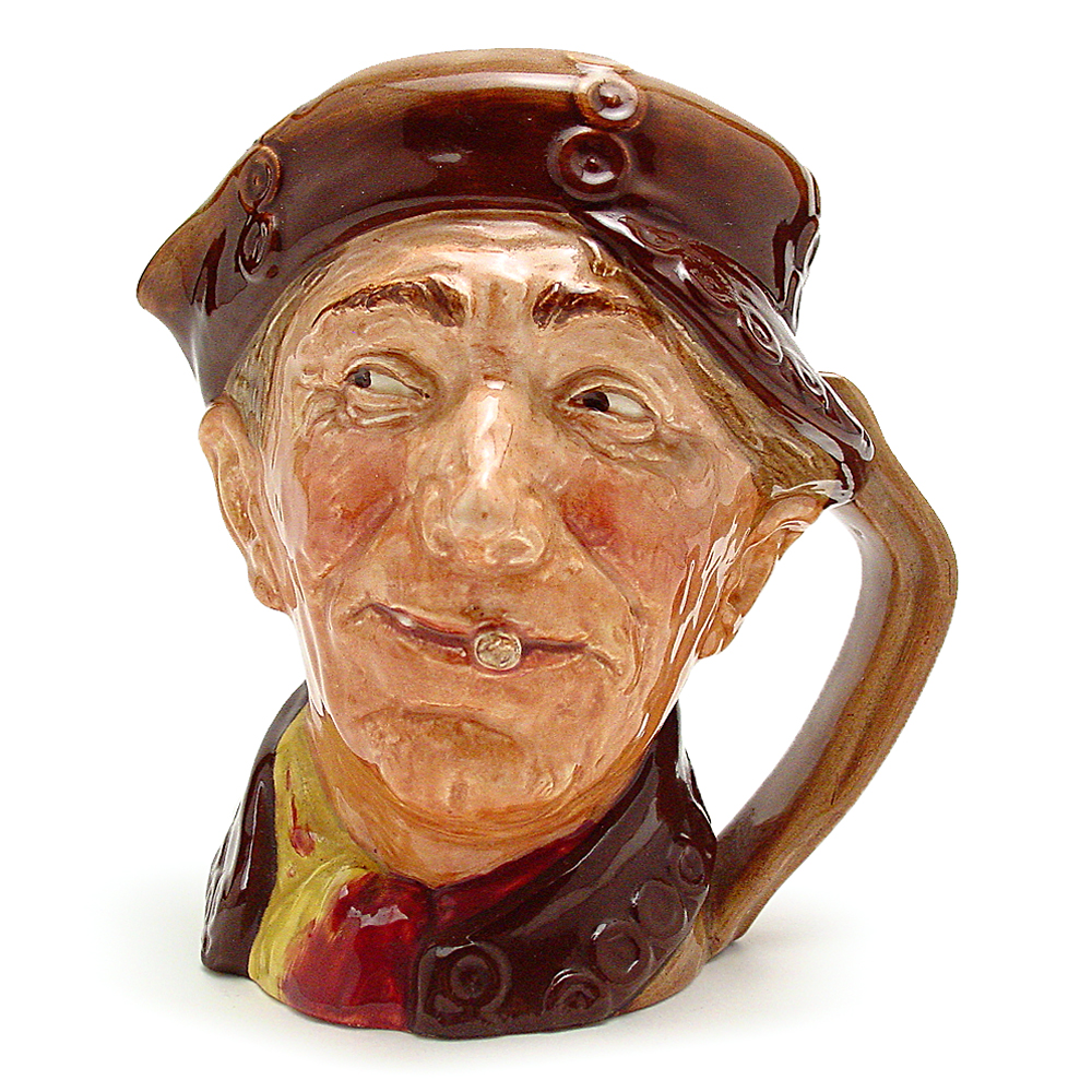 Pearly Boy (Brown Buttons) - Mini - Royal Doulton Character Jug