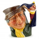 Punch and Judy Man D6596 - Mini - Royal Doulton Character Jug