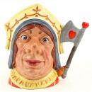 Red Queen D6860 - Mini - Royal Doulton Character Jug