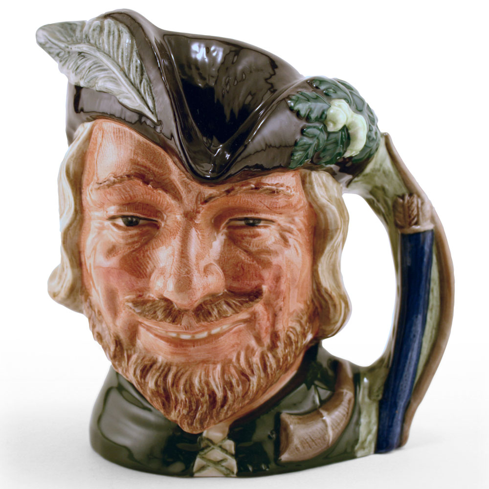 Robin Hood New D6541 (Bone China) - Mini - Royal Doulton Character Jug