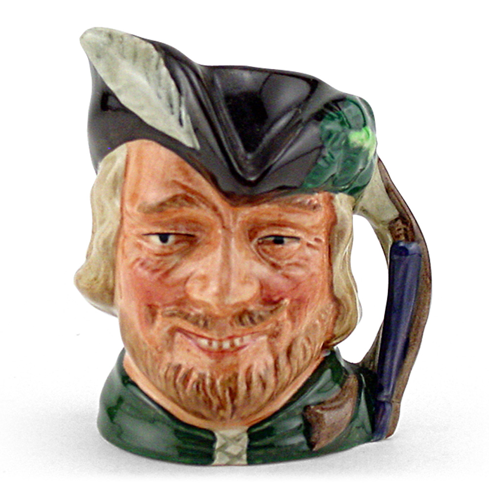Robin Hood New D6541 - Mini - Royal Doulton Character Jug