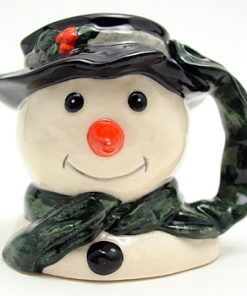 Snowman Carrot Nose D6972 - Mini - Royal Doulton Character Jug