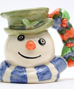 Snowman Christmas Cracker D7158 - Mini - Royal Doulton Character Jug