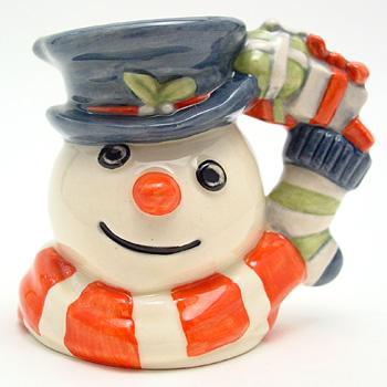 Snowman D7124 - Mini - Royal Doulton Character Jug