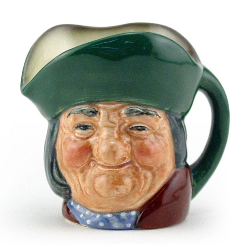 Toby Philpots D6043 - Mini - Royal Doulton Character Jug