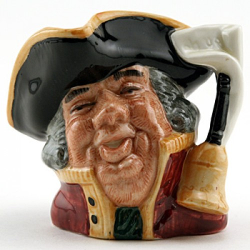 Town Crier D6544 (Bone China) - Mini - Royal Doulton Character Jug