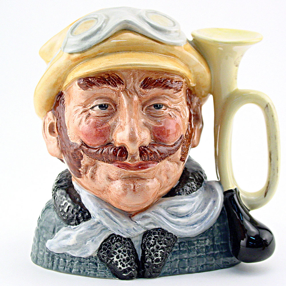 Veteran Motorist D6641 - Mini - Royal Doulton Character Jug