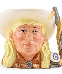 Annie Oakley D6732 - Odd Size - Royal Doulton Character Jug