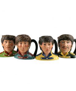 Beatles Set 4pc. - Odd Size - Royal Doulton Character Jugs