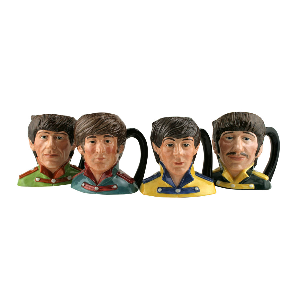 Beatles Set 4pc. - Odd Size - Royal Doulton Character Jugs