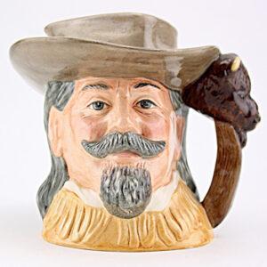 Buffalo Bill D6735 - Odd Size - Royal Doulton Character Jug