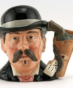Doc Holliday D6731 - Odd Size - Royal Doulton Character Jug