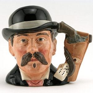 Doc Holliday D6731 - Odd Size - Royal Doulton Character Jug