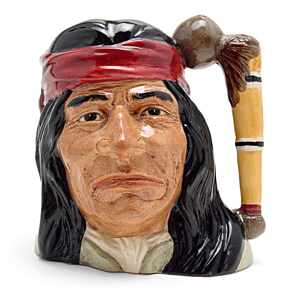 Geronimo D6733 - Odd Size - Royal Doulton Character Jug