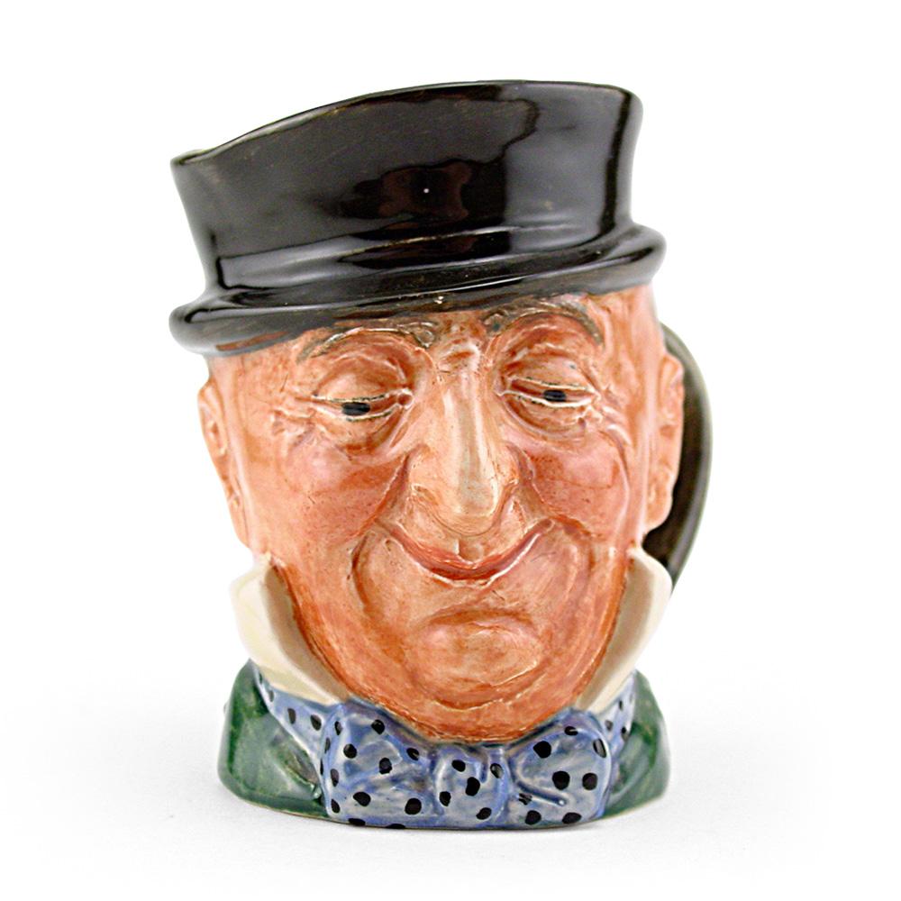 Mr Micawber D5843 - Odd Size - Royal Doulton Character Jug