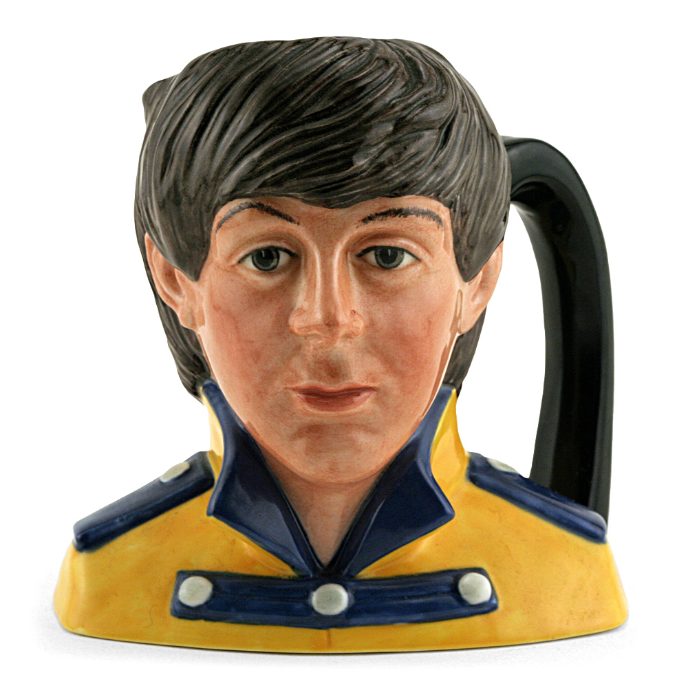 Paul McCartney D6724 - Odd Size - Royal Doulton Character Jug