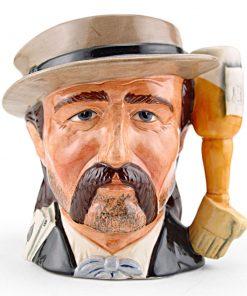 Wild Bill Hickock D6736 - Odd Size - Royal Doulton Character Jug