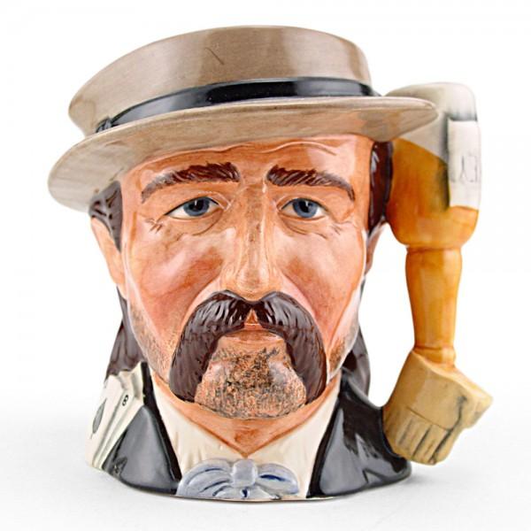 Wild Bill Hickock D6736 – Odd Size – Royal Doulton Character Jug 1