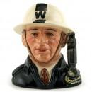 ARP Warden D6872 - Small - Royal Doulton Character Jug