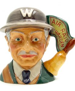 Air Raid Precaution Warden D7209 - Small - Royal Doulton Character Jug