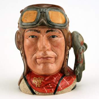 The Airman Royal Canadian Air Force D6903 - Small - Royal Doulton Character Jug