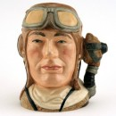 Airman with Oxygen Mask Handle D6982 - Small - Royal Doulton Character Jug