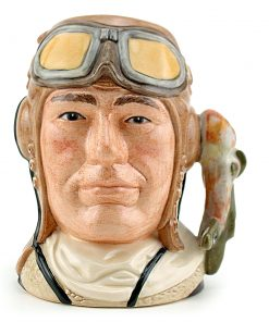 Airman Royal Air Force D6870 - Small - Royal Doulton Character Jug