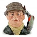 Angler Lure Handle D6866 - Small - Royal Doulton Character Jug