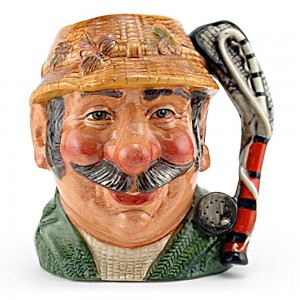 Angler Net Handle D7065 - Small - Royal Doulton Character Jug