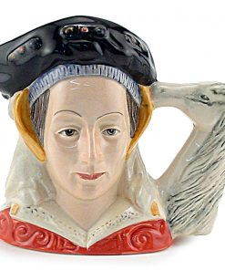 Anne of Cleves D6753 - Small - Royal Doulton Character Jug