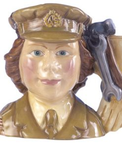 Auxiliary Territorial Service D7210 - Small - Royal Doulton Character Jug