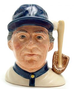 Baseball Player D6878 - Small - Royal Doulton Character Jug