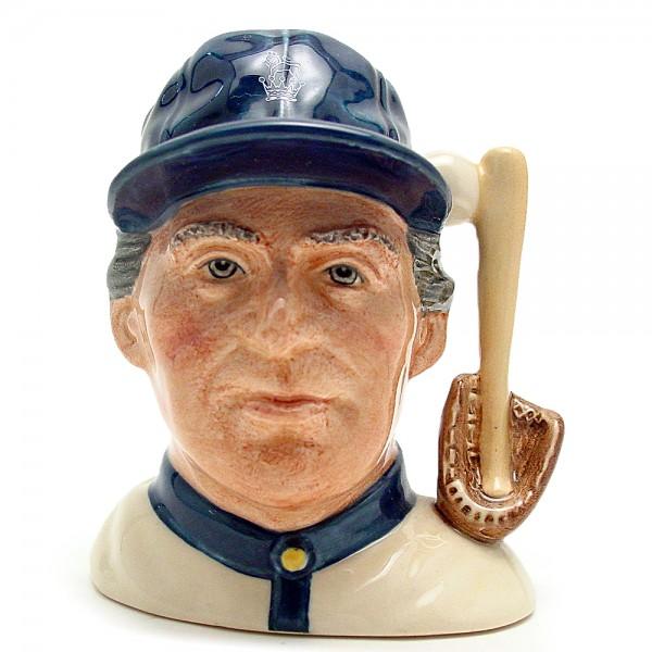 Baseball Player D6878 - Small - Royal Doulton Character Jug