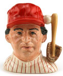 Baseball Player Philadelphia D6957 - Small - Royal Doulton Character Jug