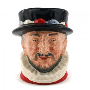 Beefeater ER D6233 Scarlet - Small - Royal Doulton Character Jug