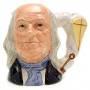 Ben Franklin D6695 - Small - Royal Doulton Character Jug