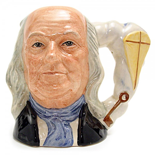 Ben Franklin D6695 - Small - Royal Doulton Character Jug