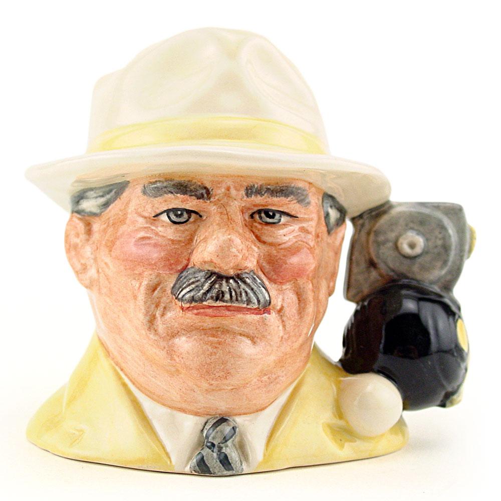 Bowls Player D6896 - Small - Royal Doulton Character Jug