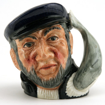 Captain Ahab D6506 (Bone China) - Small - Royal Doulton Character Jug