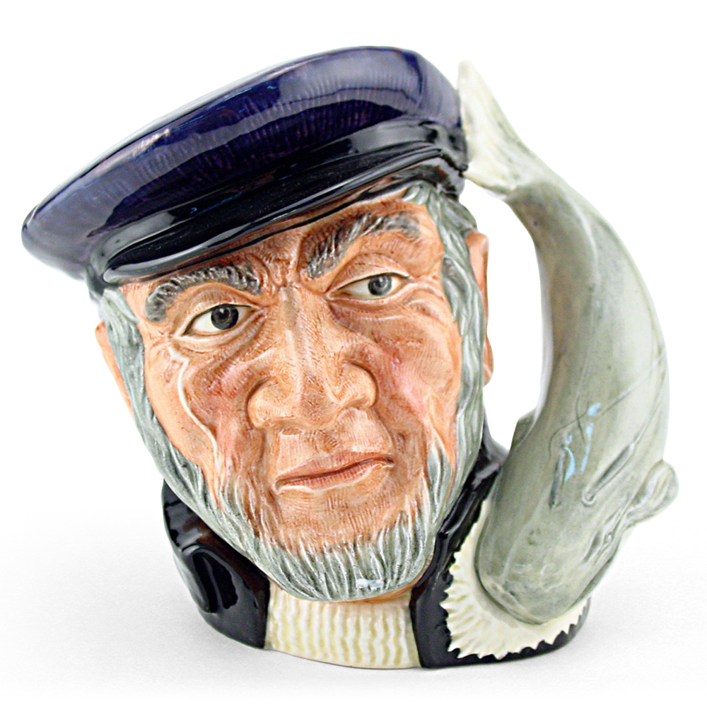 Captain Ahab D6506 - Small - Royal Doulton Character Jug