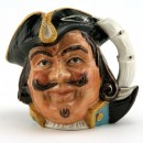 Captain Henry Morgan D6469 (Bone China) - Small - Royal Doulton Character Jug