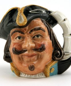 Captain Henry Morgan D6469 (Bone China) - Small - Royal Doulton Character Jug