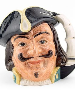 Captain Henry Morgan D6469 - Small - Royal Doulton Character Jug