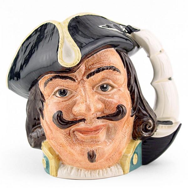 Captain Henry Morgan D6469 - Small - Royal Doulton Character Jug