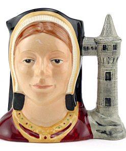 Catherine Aragon D6657 - Small - Royal Doulton Character Jug