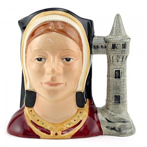 Catherine Aragon D6657 - Small - Royal Doulton Character Jug
