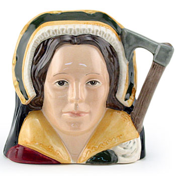 Catherine Howard D6692 - Small - Royal Doulton Character Jug
