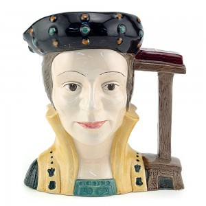 Catherine Parr D6751 - Small - Royal Doulton Character Jug