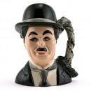Charlie Chaplin D7145 - Small - Royal Doulton Character Jug